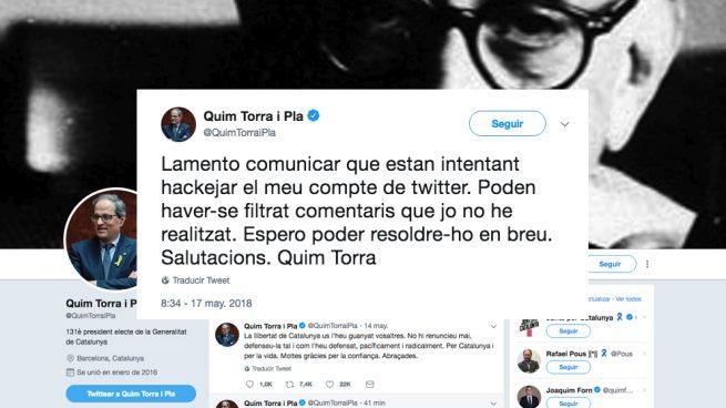 política de Torra