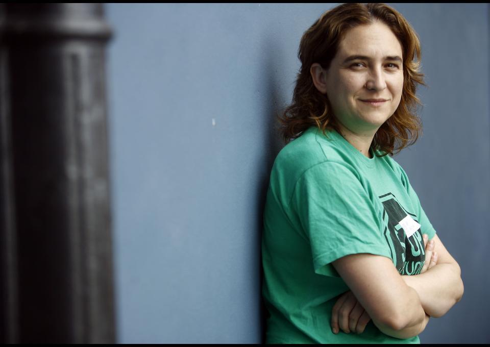 Ada Colau, candidata per BComú