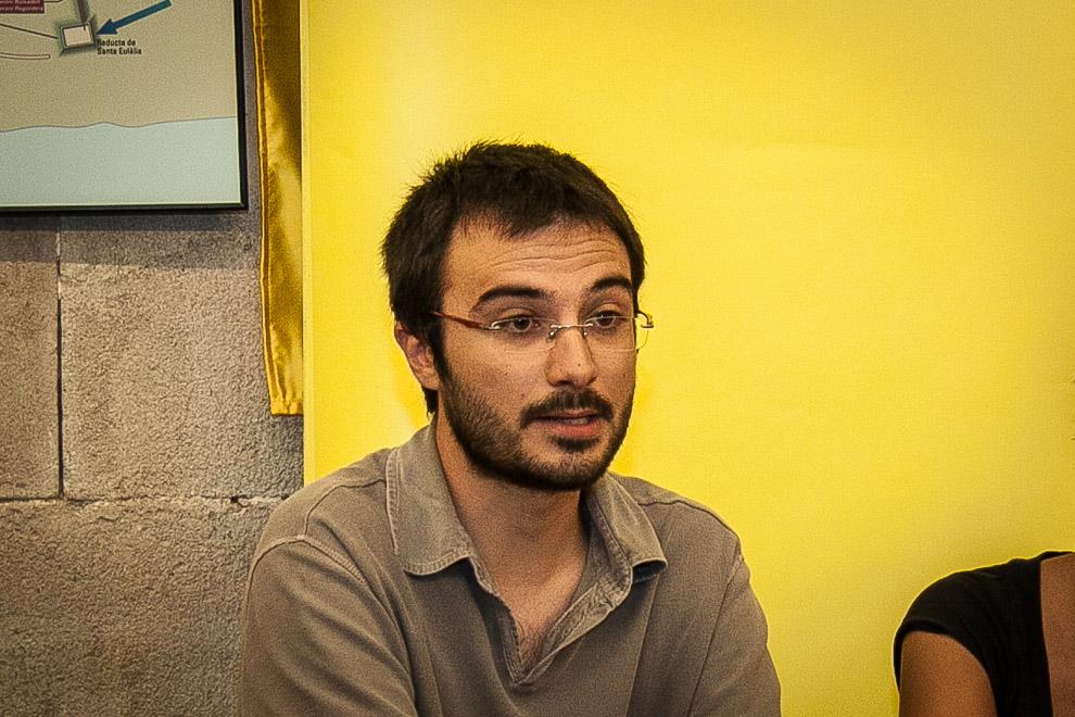 Albert Botran, membre de Polbe Lliure.