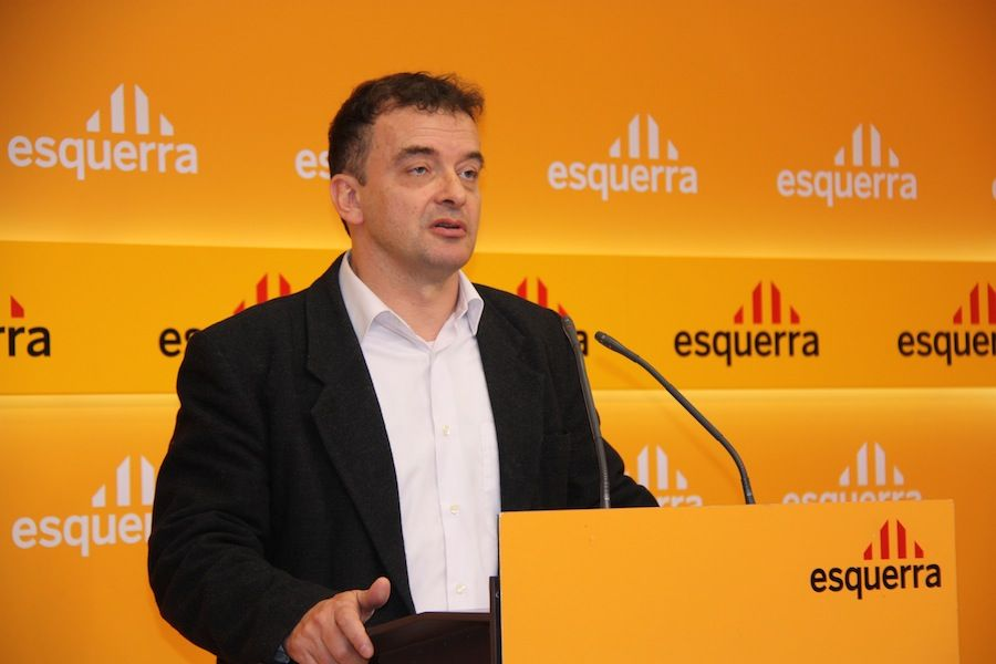 Alfred Bosch, candidat per ERC