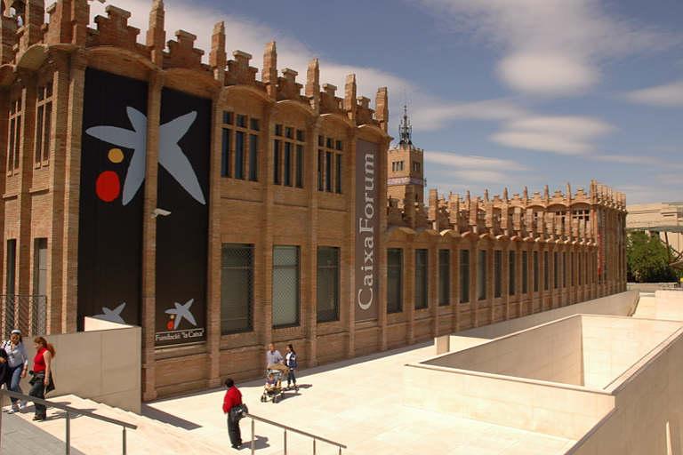 Façana del Caixa Forum