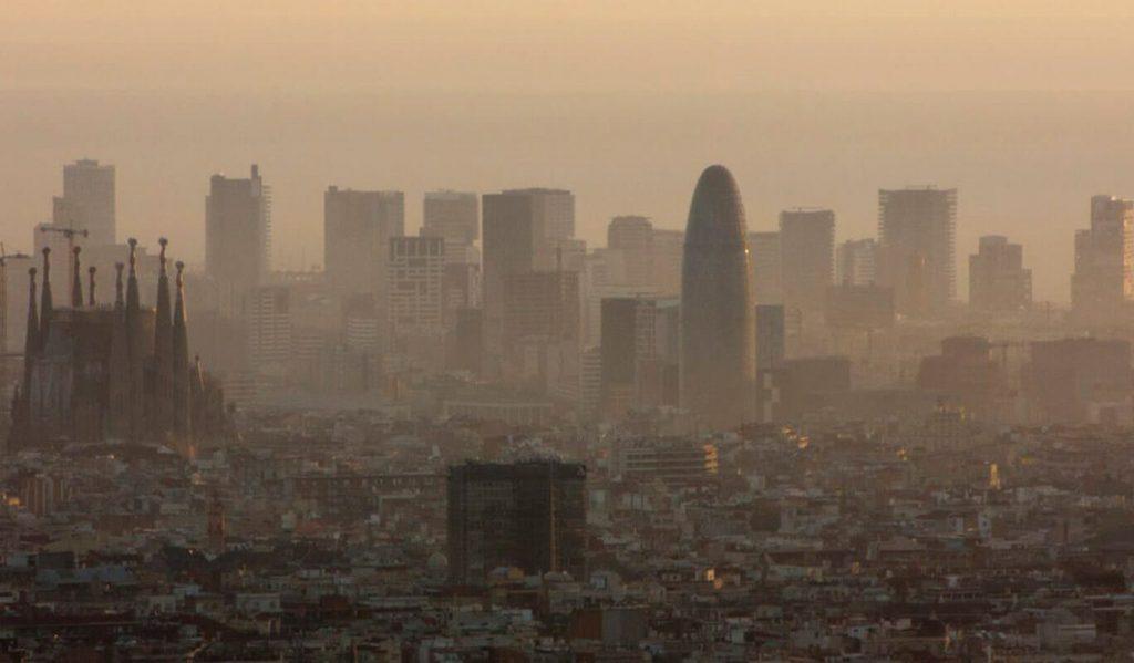 contaminació atmosfèrica Barcelona
