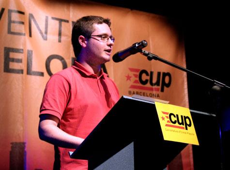 Xavier Monge és militant de SEPC.