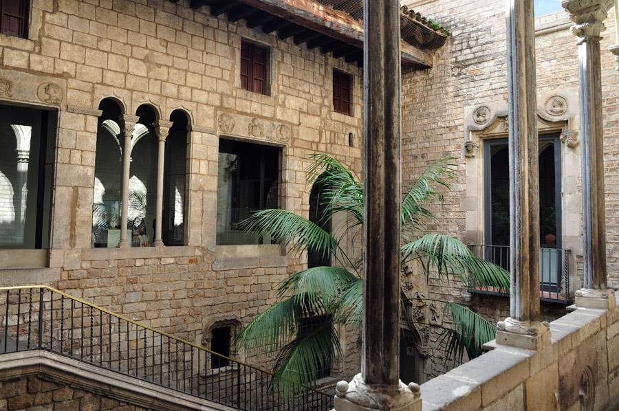 Escales principals del Museu Picasso de Barcelona