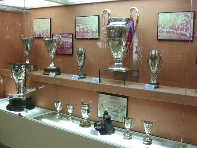 Els títols del Barça són el principal punt de mira del museu