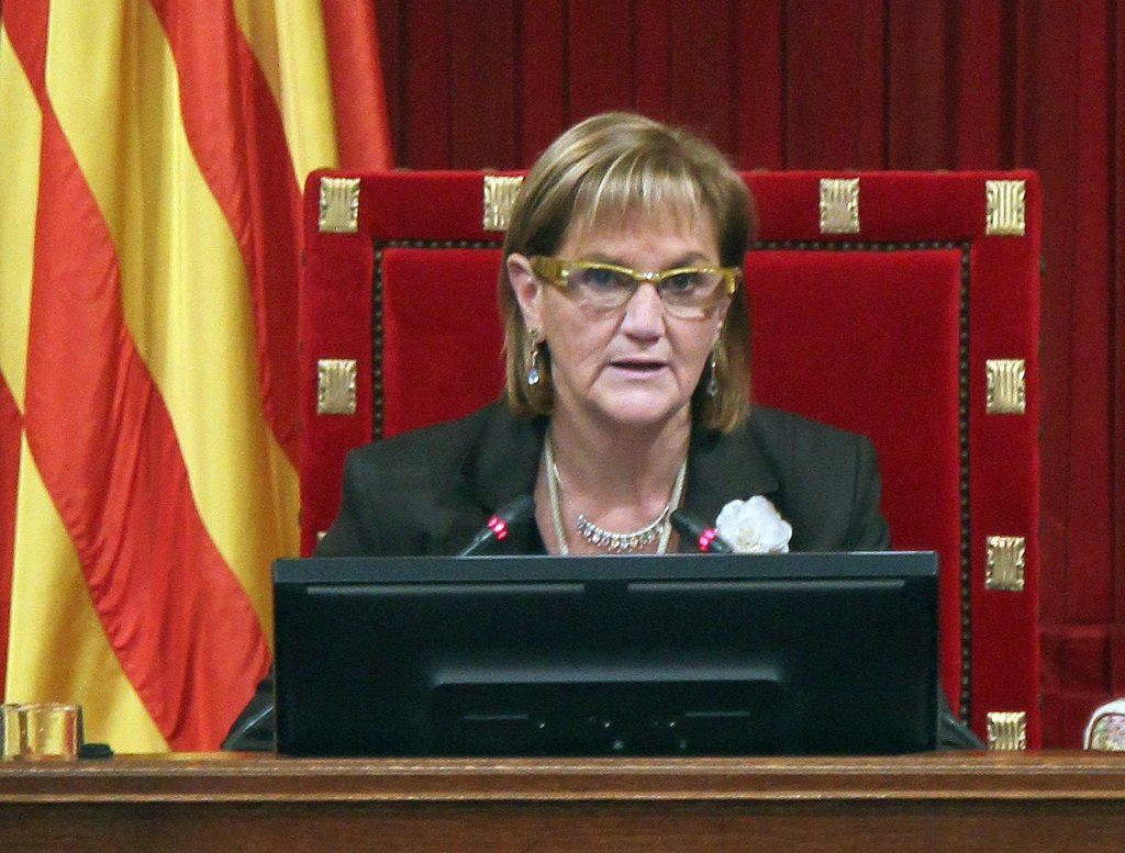 La presidenta Núria de Gispert, el sou més alt del Parlament