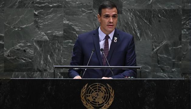 Sánchez a l'ONU