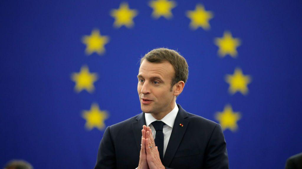 Emmanuel Macron, Europa,