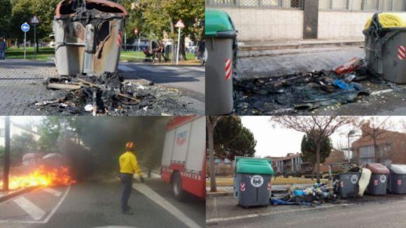 contenidors cremats