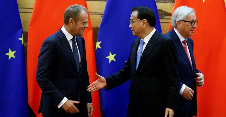 Relacions entre europa i xina