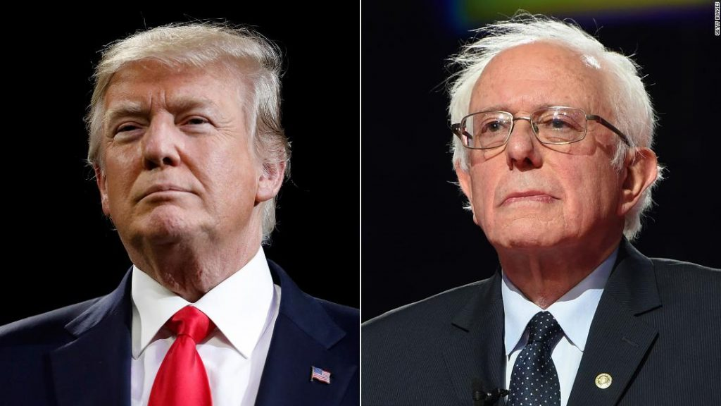 Trump, Sanders