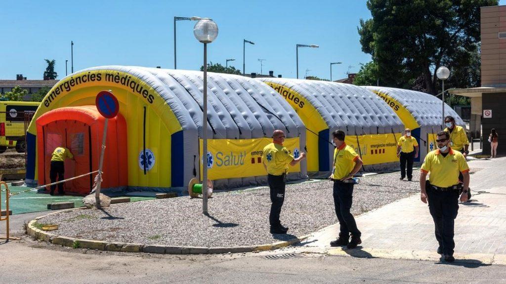 Lleida confinada