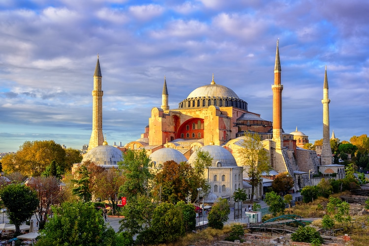 Santa Sofia en mesquita