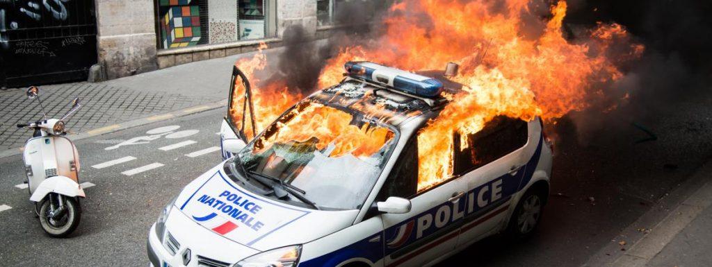 França violència