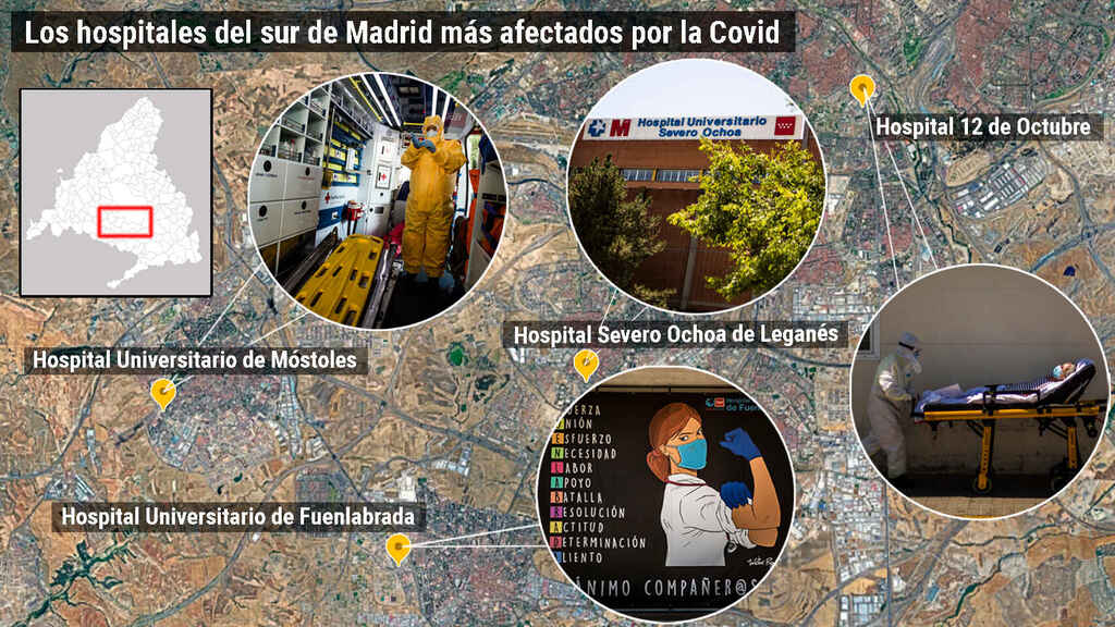coronavirus a madrid