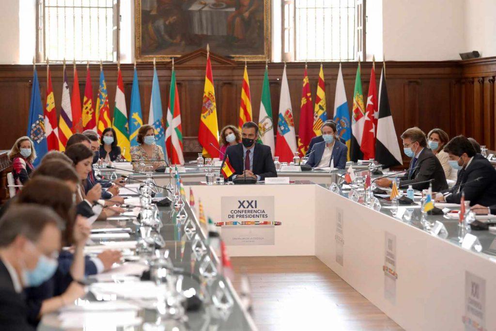 Reunió govern i CCAA
