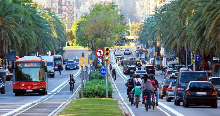 patinet bici barcelona
