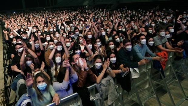 concert 5000 persones