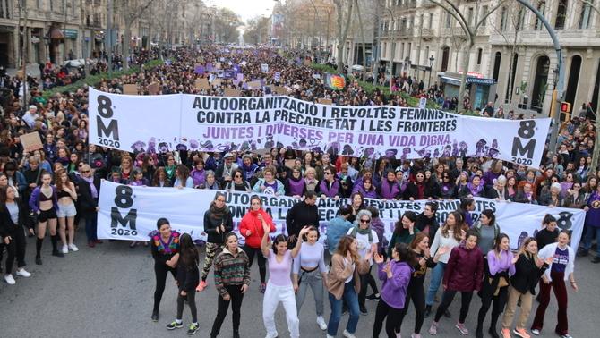 feministes manifestar