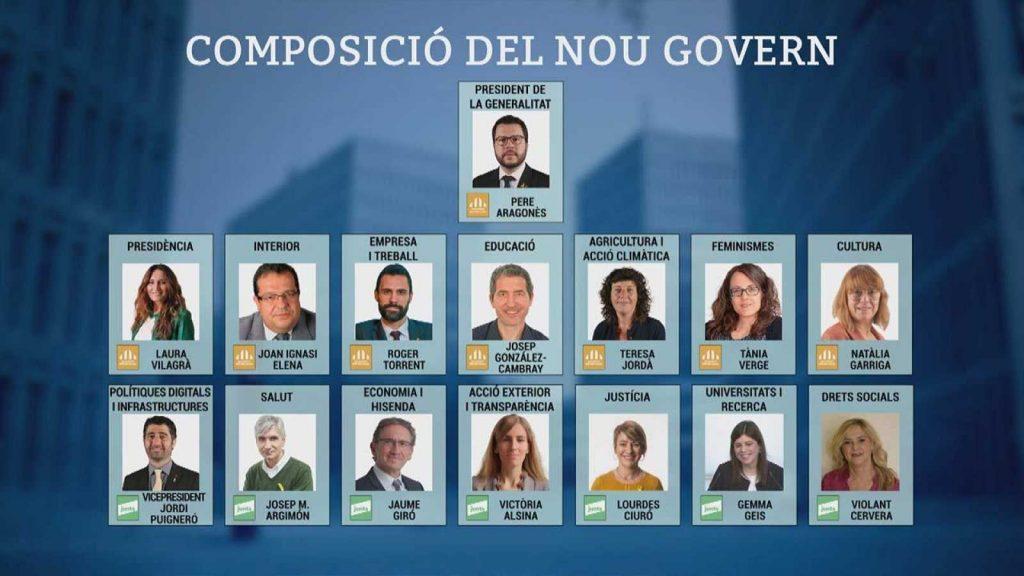Nou govern Generalitat