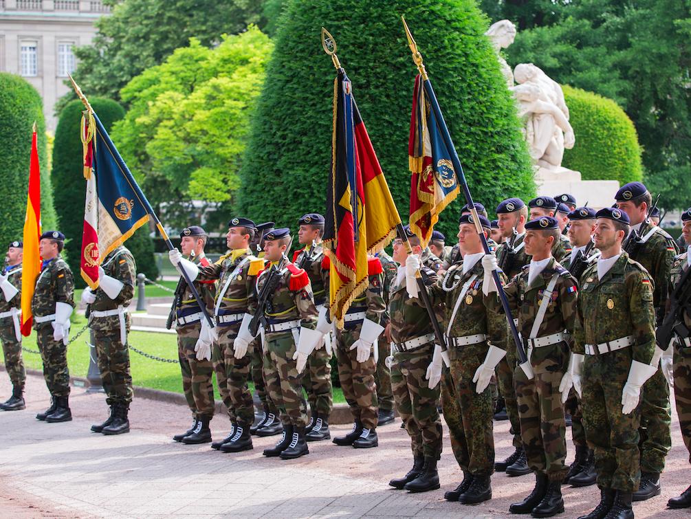 exèrcit europeu